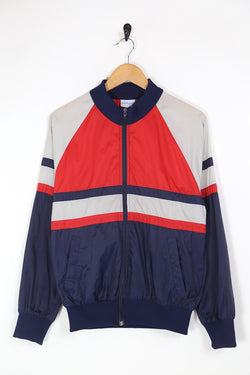 1980s Men's Adidas Windbreaker Jacket - Multi S