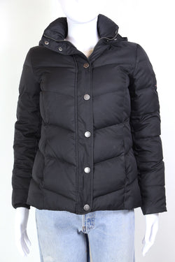 2000s Women's Tommy Hilfiger Down Filled Jacket - Black XS