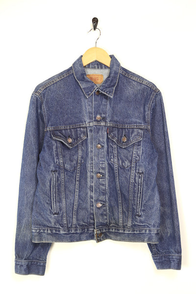 1980s Men's Levi's Denim Jacket - Blue M