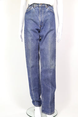 1970s Women's Levi's Orange Tab Jeans - Blue 32W