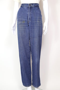 2000s Women's Lacoste Tapered Jeans - Blue 28W