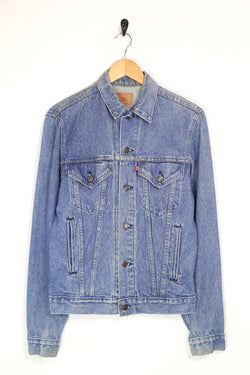 1980s Men's Levi's Denim Trucker Jacket - Blue S