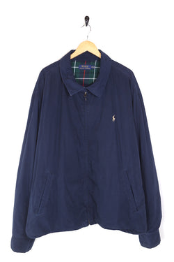 1990s Men's Ralph Lauren Harrington Jacket - Blue XXL