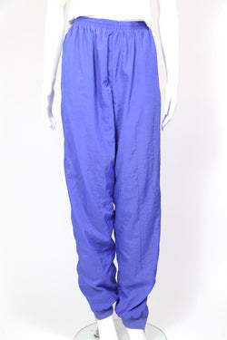 1990s Women's Nike Track Pants - Blue L