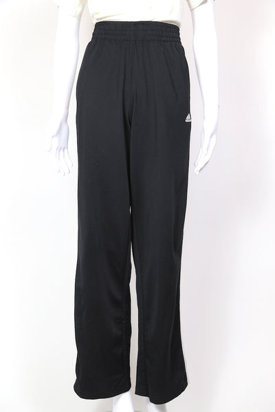 1990s Women's Adidas Track Pants - Black 30W