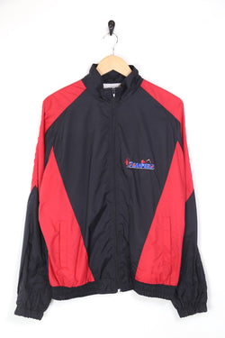 1990s Men's Colour Block Windbreaker Jacket - Multi M