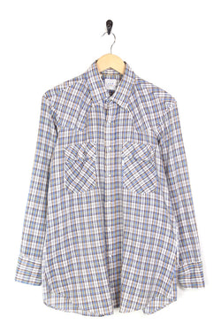 1980s Men's Levi's Special Olympics Checked Shirt - Multi L