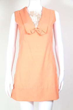 1960s Women's Mini Dress - Pink S