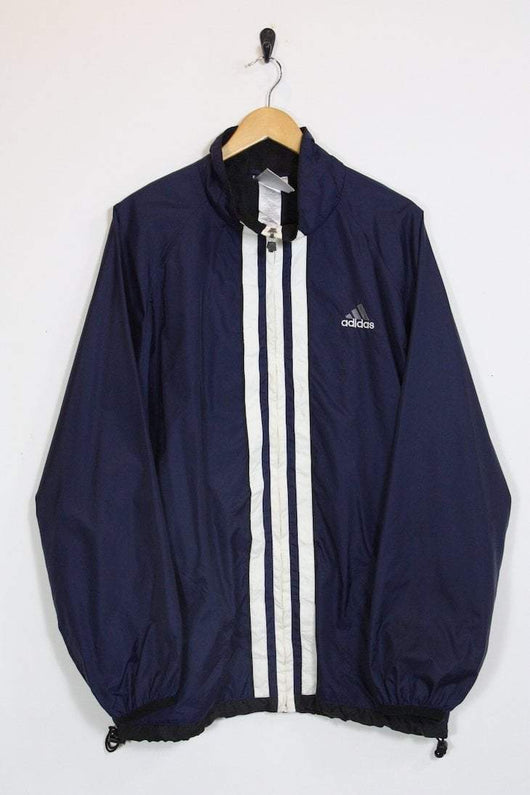 Adidas Jacket large / blue Vintage Adidas Rain Jacket
