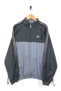 Men's Adidas Sports Jacket - Grey XL