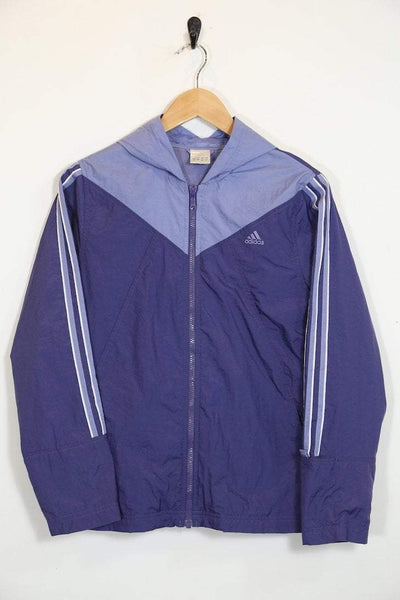 Adidas Jacket Vintage Adidas Hooded Jacket
