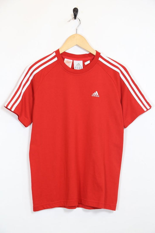 Adidas T-Shirt S / Red / Cotton Women's Adidas T-Shirt - Red S