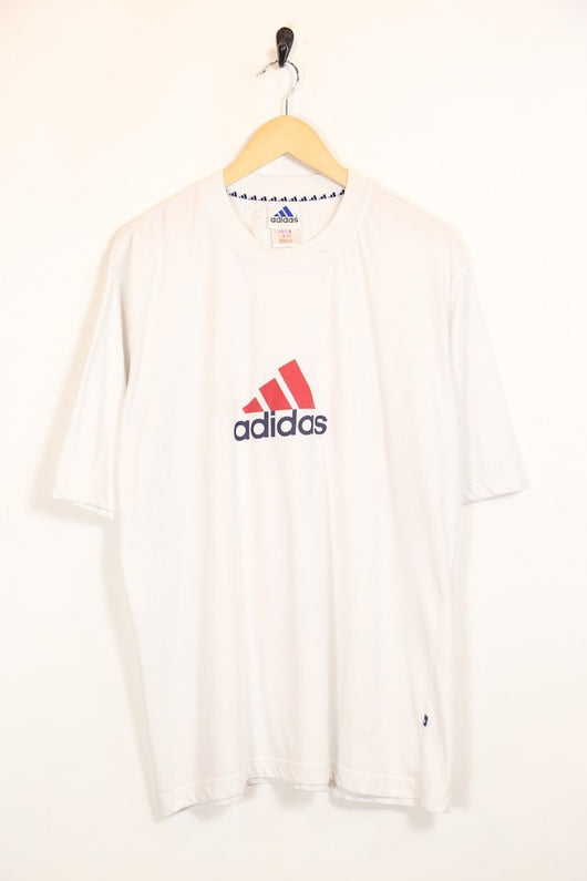 Adidas T-Shirt XL / White / Cotton Men's Adidas T-Shirt - White XL