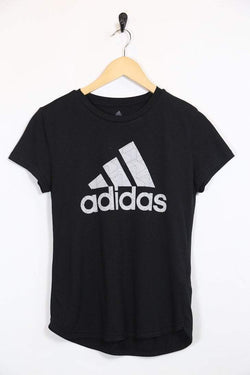 2000s Women's Adidas T-Shirt - Black XS