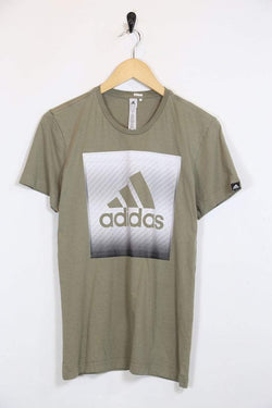 2000s Men's Adidas T-Shirt - Green XS