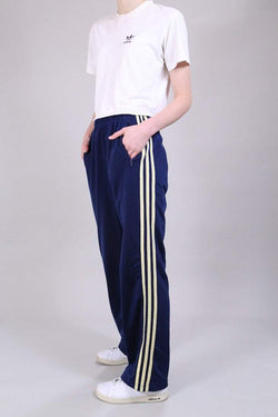 Adidas Trousers 10 / Navy Vintage Adidas Track Bottoms