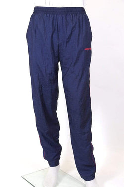 Men's Adidas Track Pants - Blue M
