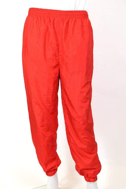 Men's Track Pants - Red L