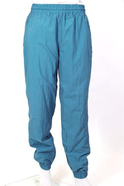 Adidas Trousers M / Blue / nylon Men's Track Pants - Blue M