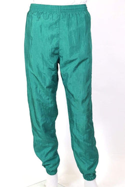 Adidas Trousers M / Green / nylon Men's Track Pants - Green M
