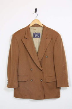 Burberry Jacket 16 / brown Vintage Burberry Wool Jacket