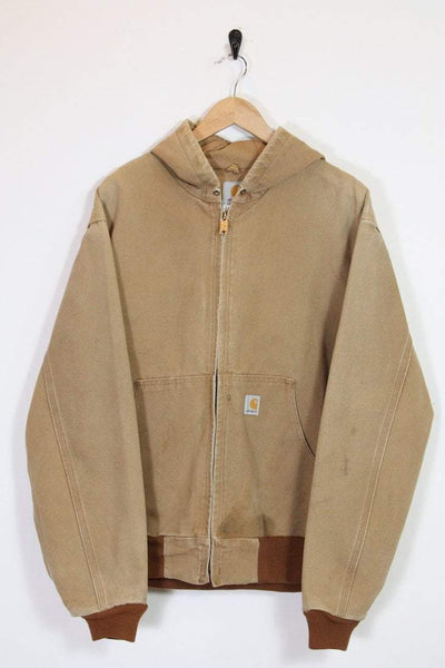 Carhartt Coat Vintage Carhartt Hooded Bomber Jacket