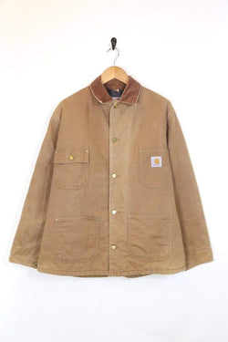 Men's Carhartt Workwear Jacket - Brown L
