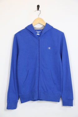 Women's Champion Zip Up Hoodie - Blue XS