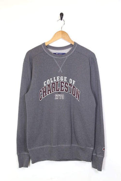 2000s Men's Champion Sweatshirt - Grey M