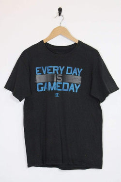 Champion T-Shirt M / black / cotton Men's Champion Game Day T-Shirt - Black M