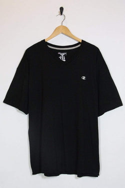 Champion T-Shirt XL / black Vintage Champion Black Tee