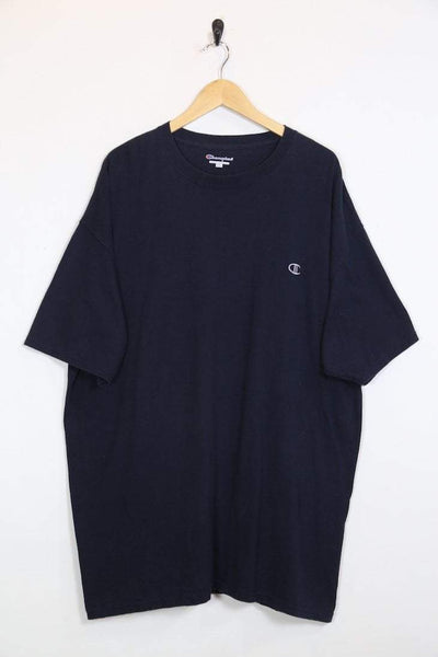 Champion T-Shirt XXL / blue / cotton Men's Champion T-Shirt - Blue XXL