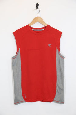 Men's Champion Vest - Red S