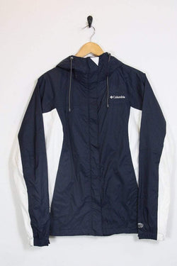 Columbia Jacket 12 / blue Vintage Columbia Navy Blue Jacket