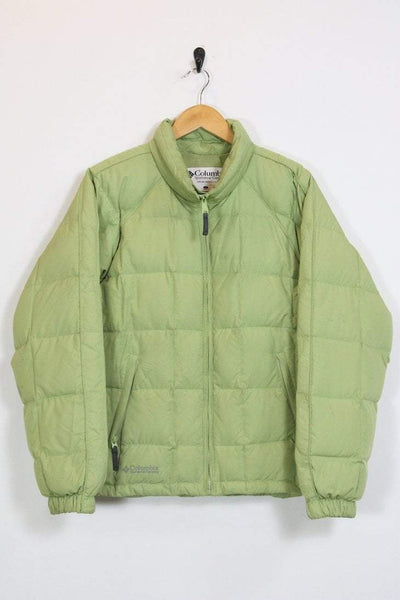Columbia Jacket 12 / green Vintage Columbia Green Puffer Jacket