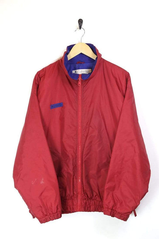 Men's Columbia Technical Jacket - Red L