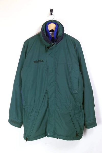 Columbia Jacket M / Green / Nylon Men's Columbia Technical Jacket - Green M