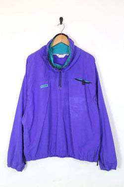 Columbia Jacket Men's Columbia 1/4 Zip Jacket -Purple XL