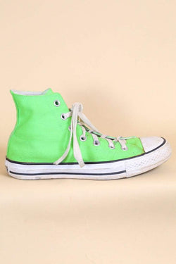 Converse Footwear Green Converse High Tops