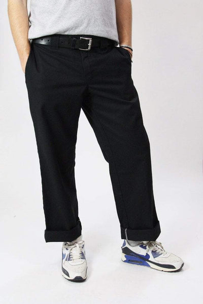 Dickies Trousers 34W / black Vintage Black Dickies 874 Workwear Trousers