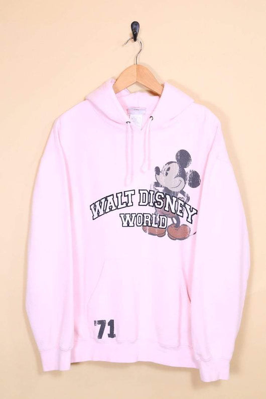 Women's Mickey Mouse Hoodie - Pink M