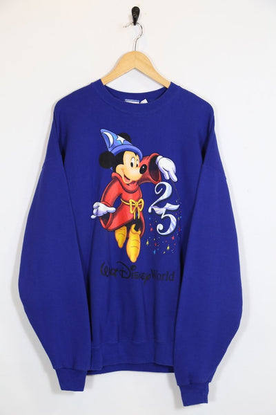 Men's Fantasia Mickey Sweatshirt - Blue L