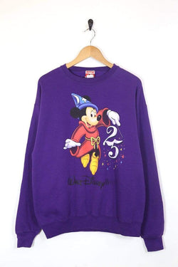 Disney Sweatshirt Women's Disney Sweatshirt - Purple L