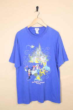 Men's Disney World T-shirt - Blue M