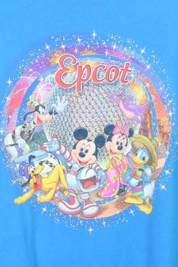 Women's Epcot Disney T-shirt - Blue M