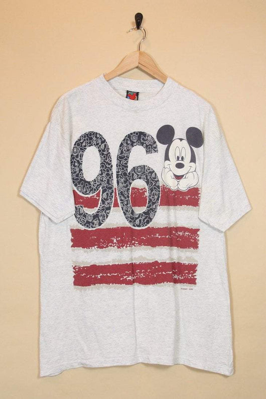 Men's Mickey Mouse 1996 T-shirt - White M