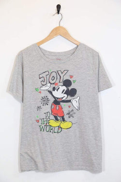 Women's Mickey Mouse T-Shirt - Grey M