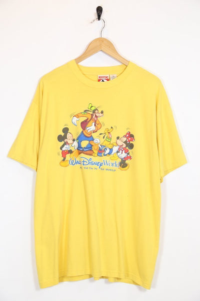 Disney T-Shirt Vintage Walt Disney Graphic Tee