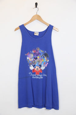 Men's Disney Vest - Blue XL