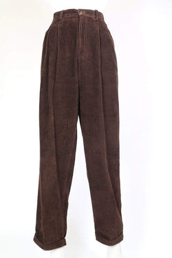 Eddie Bauer Cords Women's High Waisted Cords - Brown M